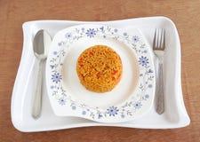 Tomato Pilaf Royalty Free Stock Photo