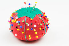 Tomato Pin Cushion Stock Images
