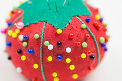 Tomato Pin Cushion Royalty Free Stock Images