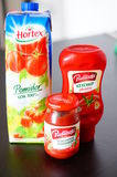 Tomato products Stock Photography