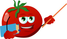 Tomato professor Stock Images