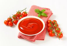 Tomato puree Stock Images