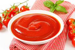 Tomato puree Stock Photography