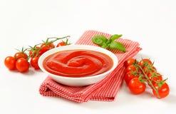 Tomato puree Stock Photos