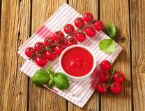 Tomato puree Stock Images