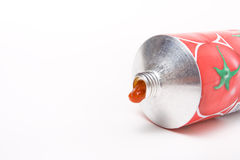 Tomato Puree Tube Stock Image