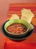 Tomato,raisin and seed chutney Stock Images