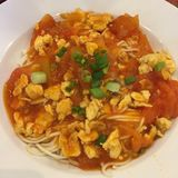 Tomato Ramen Royalty Free Stock Photos