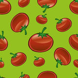 Tomato Repeat Pattern Royalty Free Stock Photos
