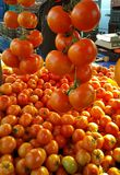 Tomato Rethymno Market. Ripe tomato Rethymno Market. Crete. Greece. Juicy. Red Stock Photo