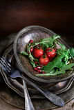Tomato and Rocket Salad Royalty Free Stock Image