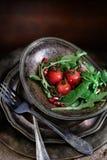 Tomato and Rocket Salad Royalty Free Stock Image
