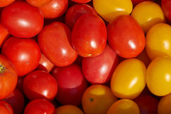 Tomato's background Stock Photo