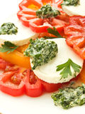 Tomato salad Royalty Free Stock Photos