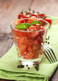 Tomato Salad Royalty Free Stock Image