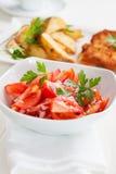 Tomato salad Stock Image
