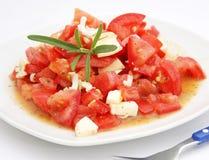 Tomato salad, Royalty Free Stock Photos