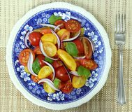Tomato salad. Stock Photography