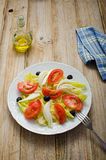 Tomato Salad Royalty Free Stock Images