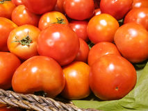 Tomato for sale at market Stock Images