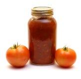 Tomato Salsa Stock Photo