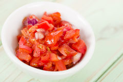 Tomato Salsa Royalty Free Stock Images