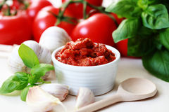 Tomato sauce Royalty Free Stock Photo