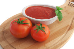 Tomato sauce Royalty Free Stock Photos