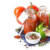Tomato sauce. Royalty Free Stock Photography