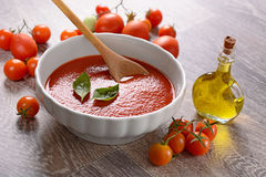 Tomato sauce in the bowl Royalty Free Stock Photography