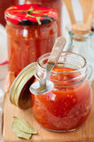 Tomato Sauce, Canned Marinara Royalty Free Stock Images