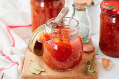 Tomato Sauce, Canned Marinara Preserves Stock Photography