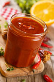 Tomato sauce Stock Photography