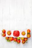 Tomato sauce and fresh tomato Royalty Free Stock Photography