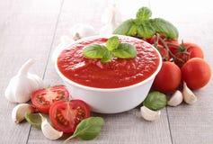 Tomato sauce/gazpacho Royalty Free Stock Photo