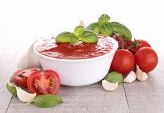 Tomato sauce/gazpacho Stock Photo