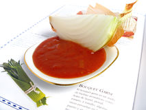 Tomato Sauce ingredients Royalty Free Stock Photography