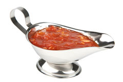 Tomato sauce isolated Stock Image