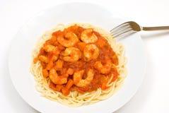 Tomato sauce spaghetti Royalty Free Stock Image
