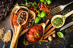 Tomato Sauce With Stock Photo