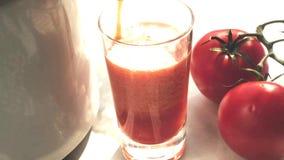 Tomato and sauerkraut juice stock video