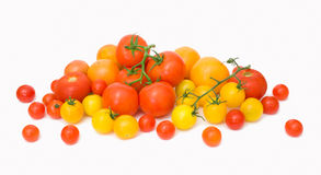 Tomato scattering Stock Photos