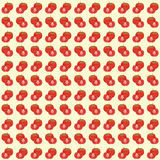 Tomato seamless pattern background Royalty Free Stock Images