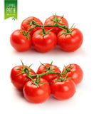 Tomato set with clipping path - 2 Royalty Free Stock Photo
