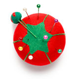 Tomato Sewing Pin Cushion Royalty Free Stock Photos
