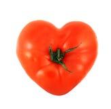 Tomato shaped like heart Stock Photos