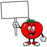 Tomato with Sign Stock Photos