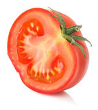 Tomato slice isolated on a white background Stock Photography