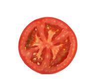 Tomato slice isolated on white background Stock Image