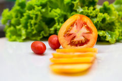 Tomato sliced Royalty Free Stock Photo